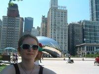 Me at Millenium Park