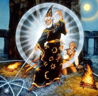 Misteryo at Lohika: Encounter with Merlin, the Enchanter, Wizard and the  Prophet