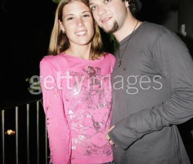 And For Those Keeping Track Here Is A Photo Of Bam And His Ex Fiancee Of Many Years Jenn Rivell The One Who Was Causing A Stir With The Bam Jessica