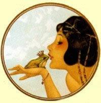 Frog kiss