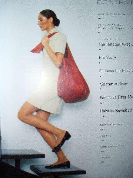 Breslau bag in Halston: An American Original (1999)