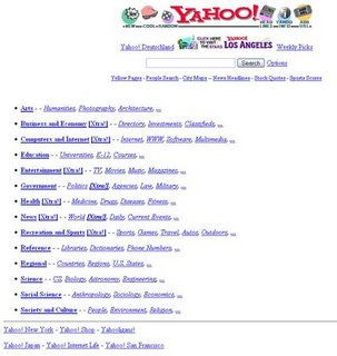 Yahoo - October 17, 1996