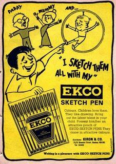 Ekco Sketch Pen