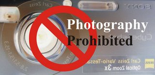 Photography Prohibited