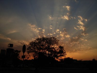 Sunset at Connaught Place, New Delhi