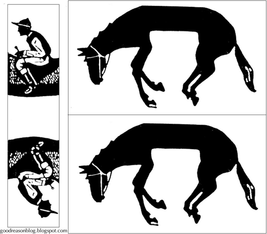 Horse And Rider Puzzle Good Reason