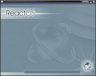 ReactOS Splash Screen