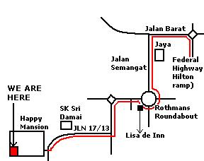 Map to 59Minutes