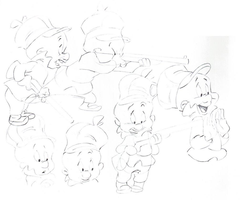 Cartoons Model Sheets Amp Stuff From Egghead To Elmer