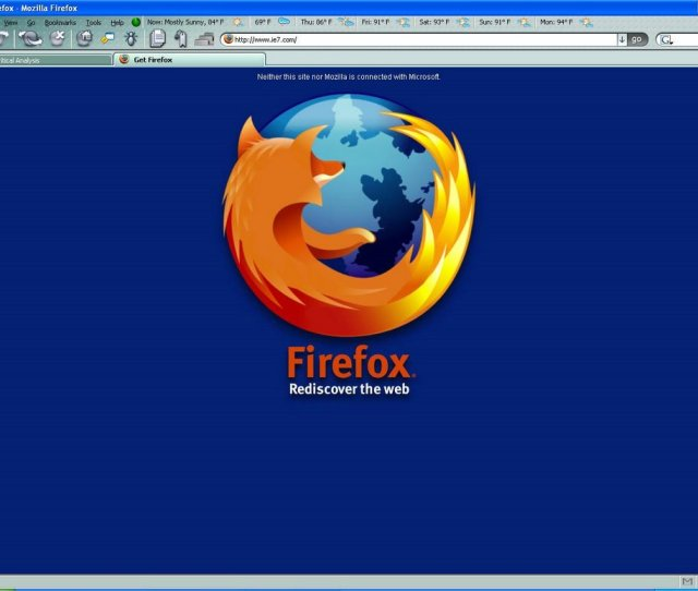 Thats Too Funny Check Out The New Ie 7