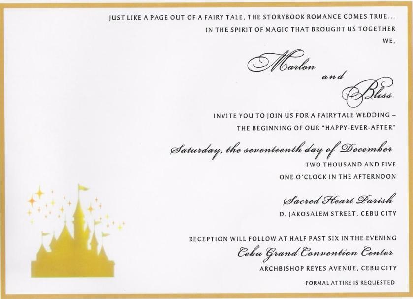 Main Invite