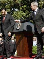 more world-class bush diplomacy