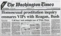 Click on the enlargements to read the 1989 Washington Times expose.