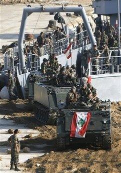 Lebanese army deploys
