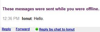 gtalk offline message 2