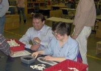 Heath Shuler with IOI employee