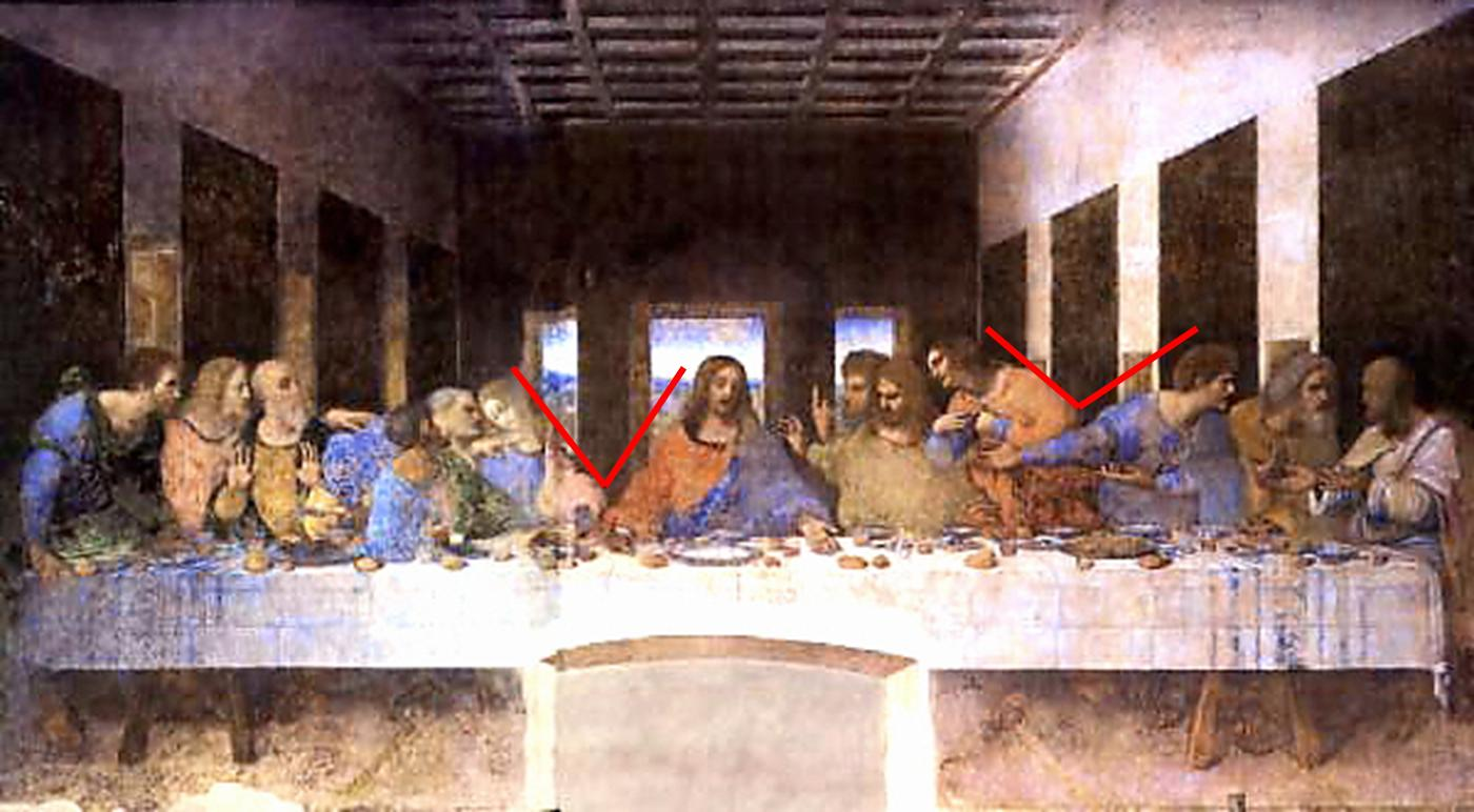 Just A Girl The Davinci Code The Last Supper