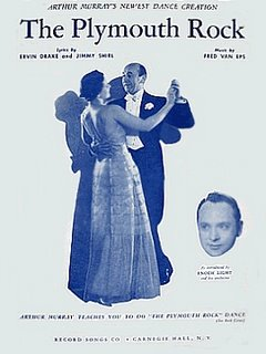 The Plymouth Rock sheet music cover