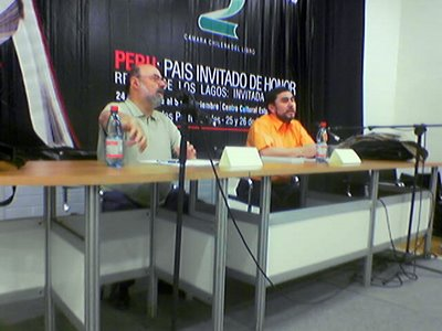 Miquel Barceló y Marcelo Novoa