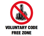 Voluntary Code Free Zone