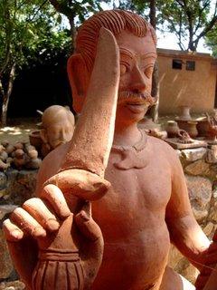 Faces at Sanskriti Kendra