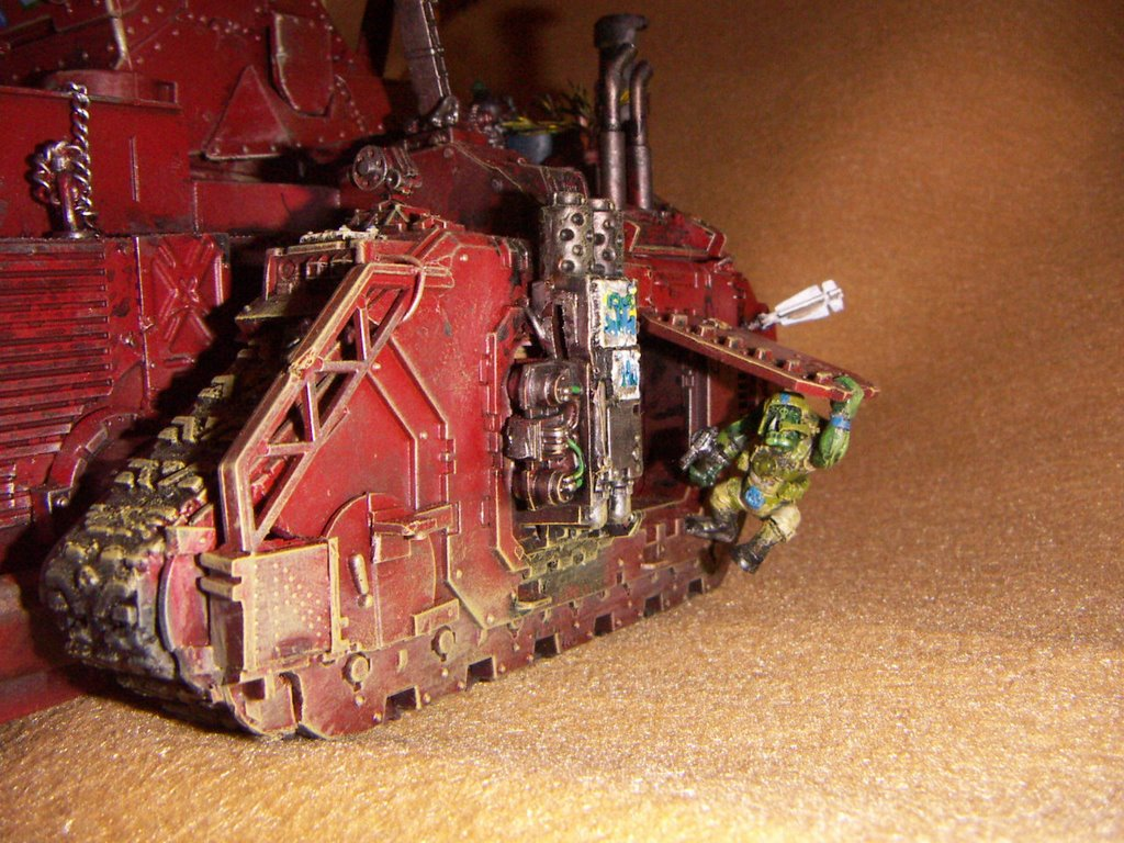 Addictedtostyrene Wh40k Ork Battle Barge Latest