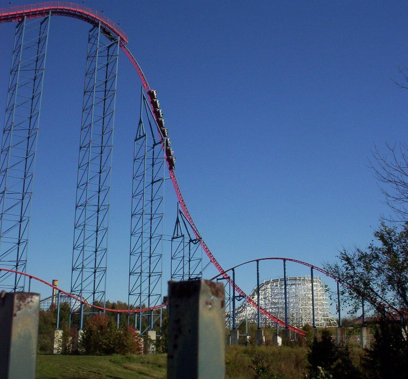 Superman: Ride of Steel | Six Flags America - CoasterCritic