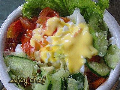 selada tanpa mayones ih sedep ban ggettt