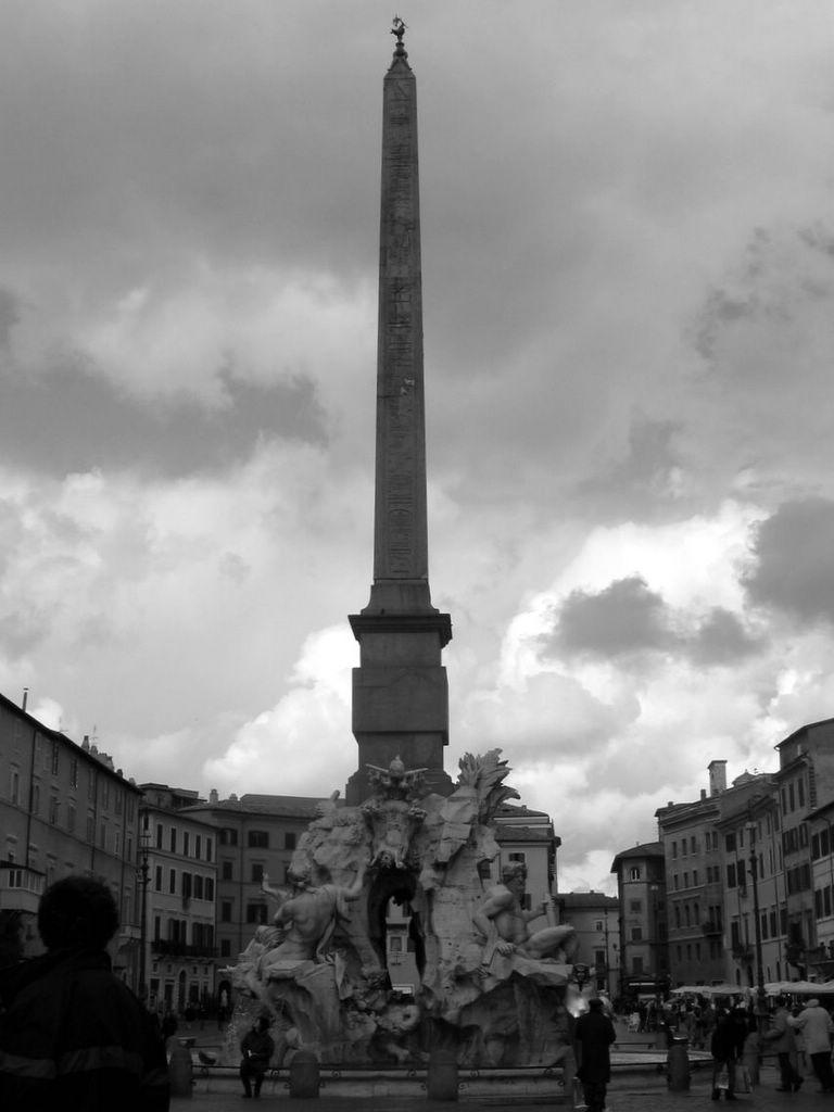Bernini's Fountain of Four Rivers