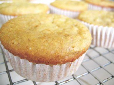 Banana Buttermilk Muffins