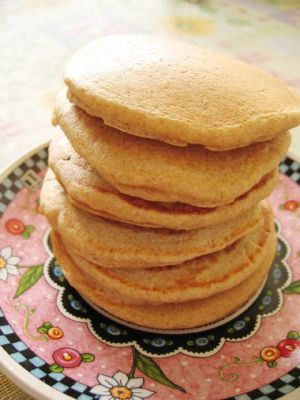 nice stack of pikelets
