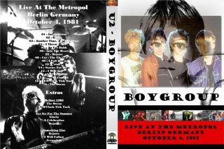U2 DVD COVERS