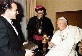 Bono - Juan Pablo II