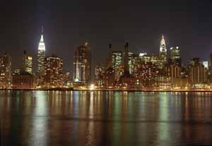 New York City Of Blinding Lights