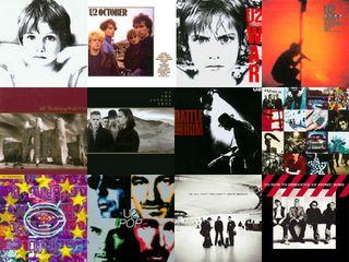U2 albums covers