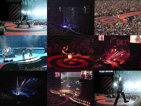U2 photos Amsterdam Vertigo Tour