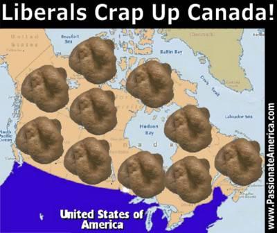 Liberals Crap Up Canada