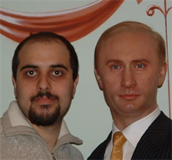 me and Putin partying hard
