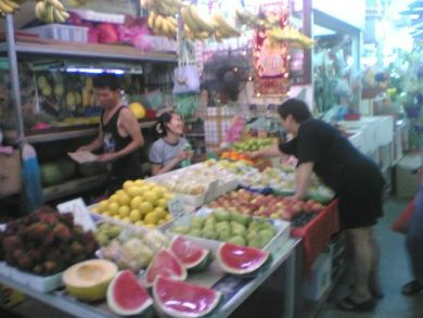 Bedok Wet Market – Fruit Stall