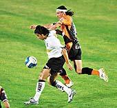 Colo Colo jugando