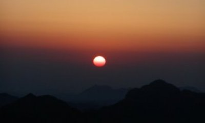tramonto sinai