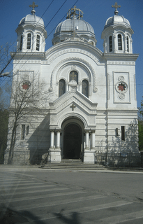 random old church in Bucharest