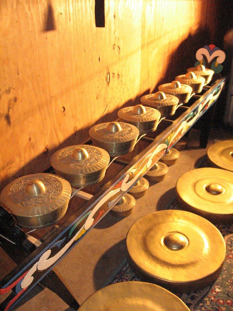 Photo image of Asian Nipple Gongs.
