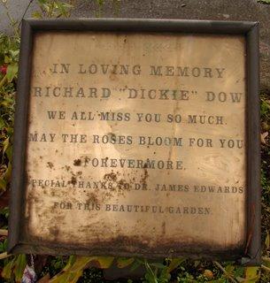 Dickie Dow Memorial