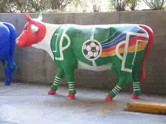 STUPID EPIDEMIC COW PARADE IS HERE