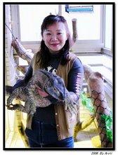 我媽與巨蜥