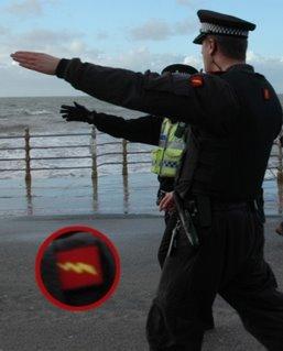 UK police adorn nazi chic
