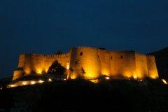 قلعه فلک الافلاک خرم آباد- شب