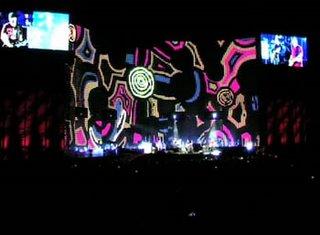 Animaciones U2 Vertigo Tour en Australia