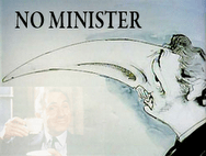 No Minister logo